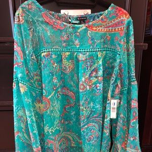 Beautiful bell sleeve baby doll top